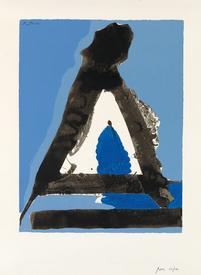 Robert Motherwell, 'The Basque Suite #8', 1970-71