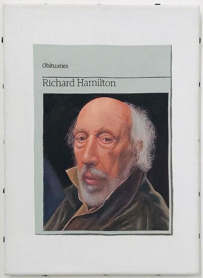 Hugh Mendes, 'Obituary: Richard Hamilton', 2012