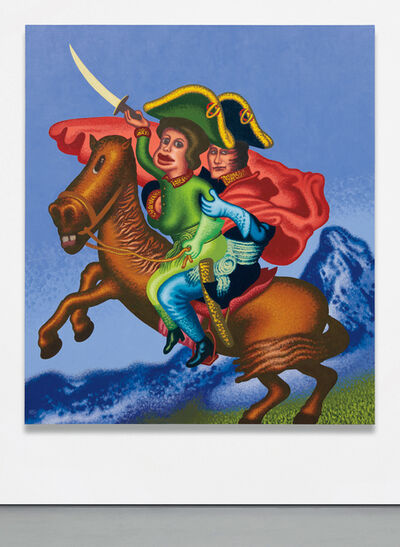 Peter Saul, 'Two Napoleons Crossing the Alps', 2015