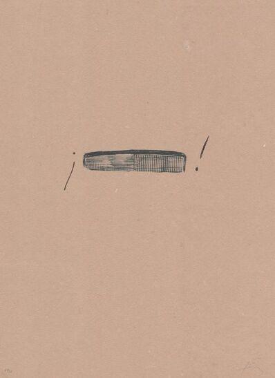 Antoni Tàpies, 'Llambrec material IV', 1970-1980
