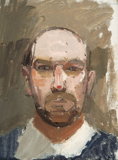 Euan Uglow, 'Self-Portrait', 1963