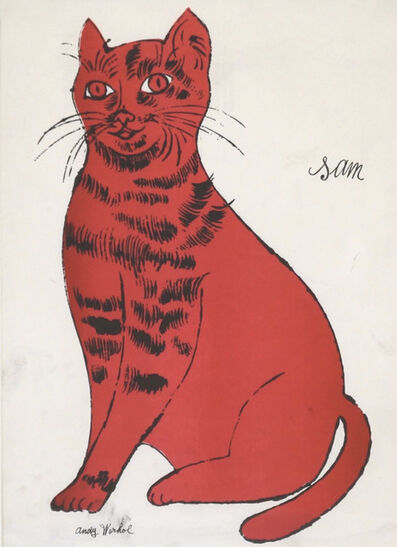 "Andy Warhol, 'Untitled (Cat from ""25 Cats named Sam""', ca. 1950"