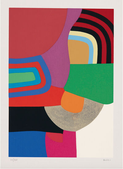 Alberto Burri, 'Untitled (Calvesi 45)', 1973-1976
