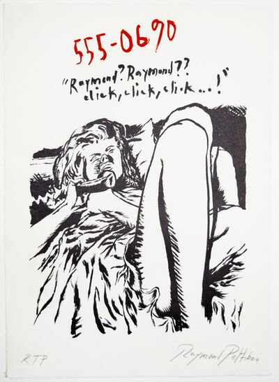 Raymond Pettibon, 'Untitled (555-0690)', 2018