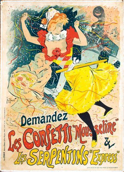 """Georges Meunier, 'DEMANDEZ LES CONFETTI """"MOUSSELINE""""', 1894"""