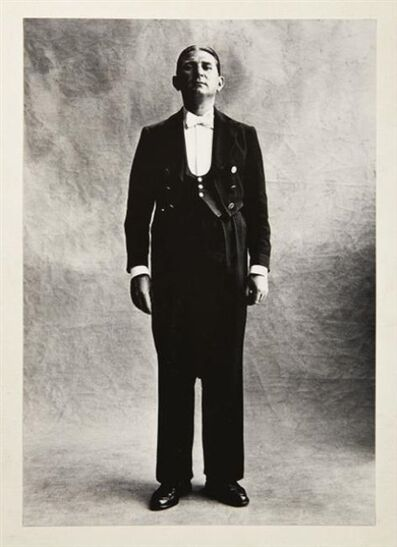 Irving Penn, 'Chasseur (Larue), Paris', 1950