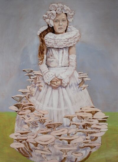 Cynthia Fuhrer, 'Girl with Pink Fungi', 2019