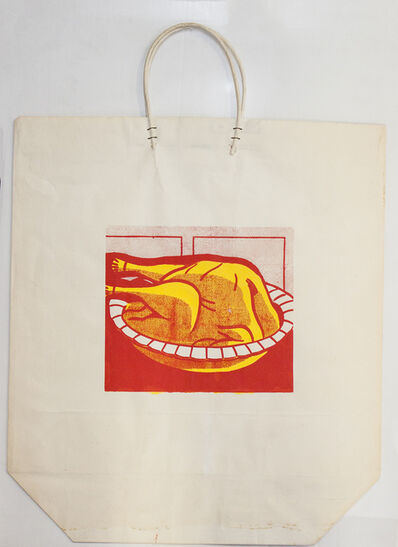 Roy Lichtenstein, 'Turkey Shopping Bag', 1964