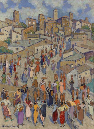 Jac Martin-Ferrieres, 'Scène de Rue (Street Scene) ', ca. 1935