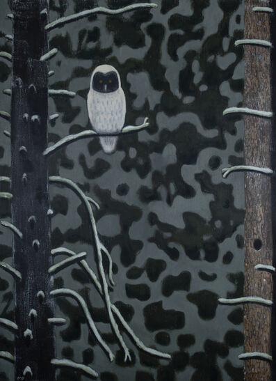 Mike Piggott, 'Winter Owl', 2018