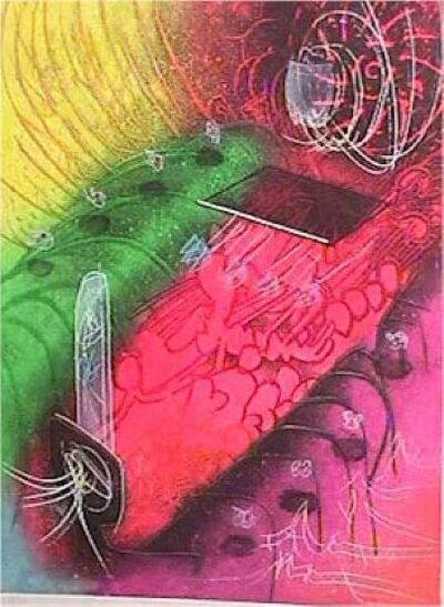 Roberto Matta, 'Attire le gai Venin from Une Saison en Enfer', 1977