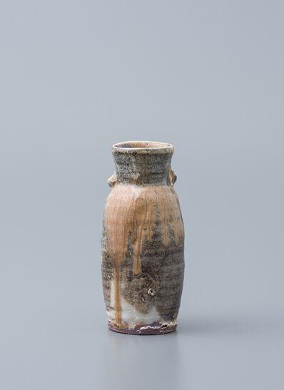 Ken Matsuzaki, 'Vase, yohen shino glaze'
