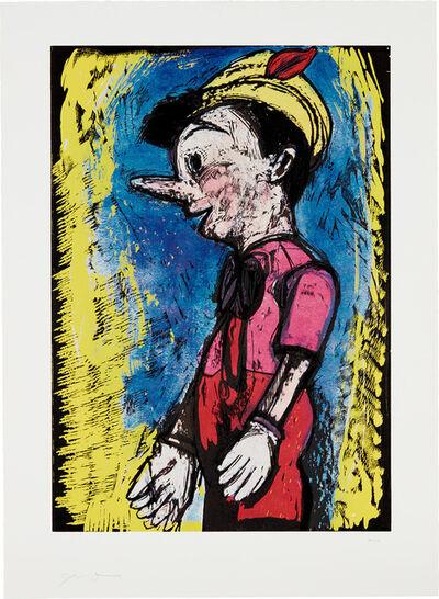 Jim Dine, 'Lincoln Center Pinocchio', 2008
