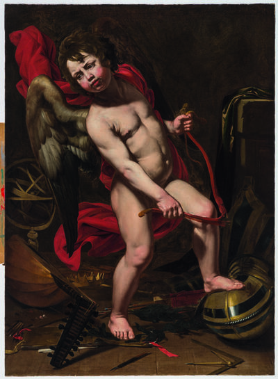 Jean Ducamps, 'Cupid Breaking His Bow', 1620-1637