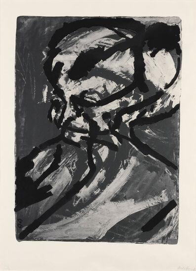 Frank Auerbach, 'PORTRAIT OF GERDA BOEHM'