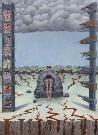 Irving Norman, 'Man of Sorrow', 1988