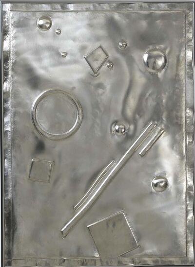 Stephen Antonakos, 'Untitled Silver Relief (A-2)', 1985