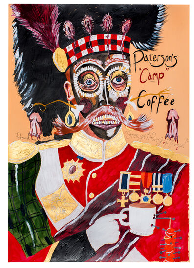 Andrew Gilbert, 'Proud to serve - Patterson's Camp Coffee', 2014