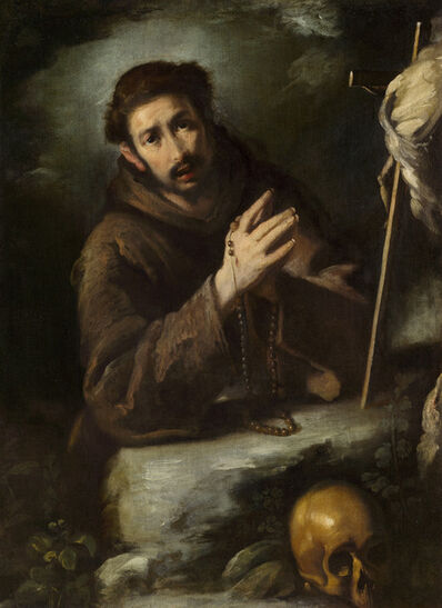 Bernardo Strozzi, 'Saint Francis in Prayer', ca. 1620/1630