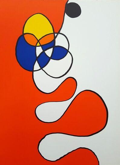 Alexander Calder, 'Derriere Le Miroir No. 173 (Abstract III)', 1968
