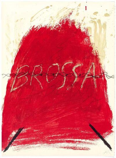Antoni Tàpies, 'Untiled', 1973