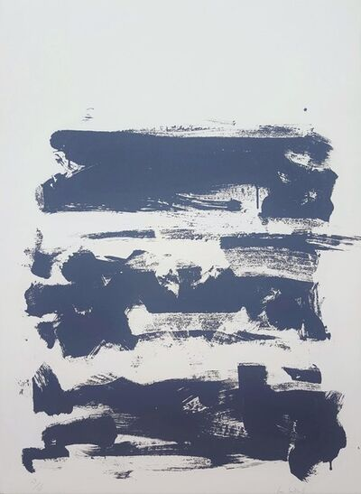 Joan Mitchell, 'Champs (Grey)', 1991-1992
