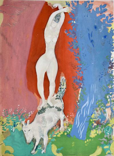 Marc Chagall, 'Circus Woman | Femme de Cirque', 1960