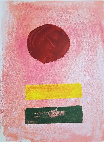 Adolph Gottlieb, 'Pink Ground', 1972