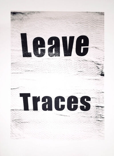 Ethel Shipton, 'Leave Traces', 2019