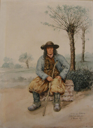 Jules Bastien-Lepage, 'Portrait of a Breton', 1877