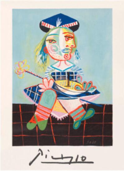 Pablo Picasso, 'La Fille de L`artiste a Deux Ans Et Demi Avec Un Bateau', 1979-1982