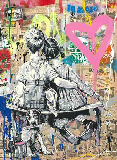 Mr. Brainwash, 'Work Well Together', 2019