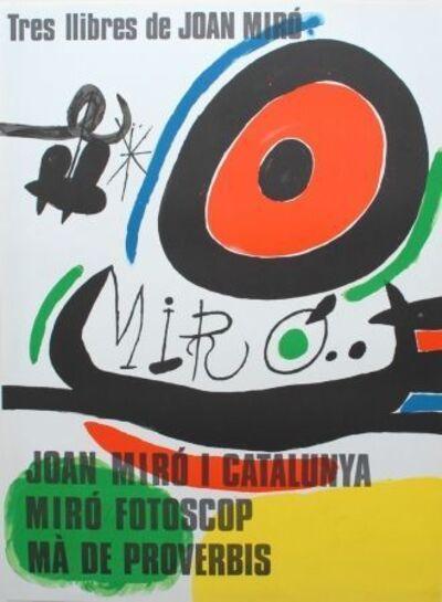 Joan Miró, 'Tres Llibres de Joan Miró', 1970