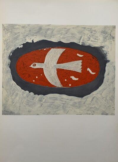 Georges Braque, 'White bird from Derniers Messages', 1967
