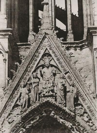 Jean-Louis-Henri Le Secq, 'Reims. Cathédrale Notre-Dame. Tour Nord. 2e étage du côté oriental, la galerie des rois', 1851c/1870