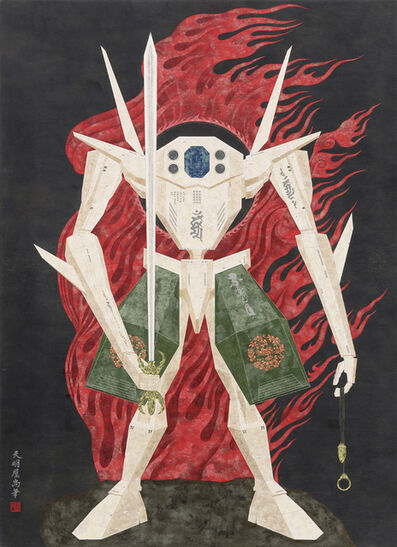 Tenmyouya Hisashi, 'Robot Fudou Myouou', 2015