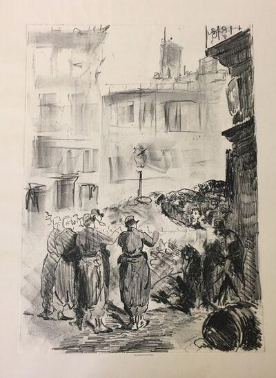 Édouard Manet, 'La Barricade', 1871