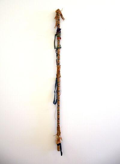 Sue Dean, 'Totem Blue Jean Rhythm Stomp Pole', 2013-2020