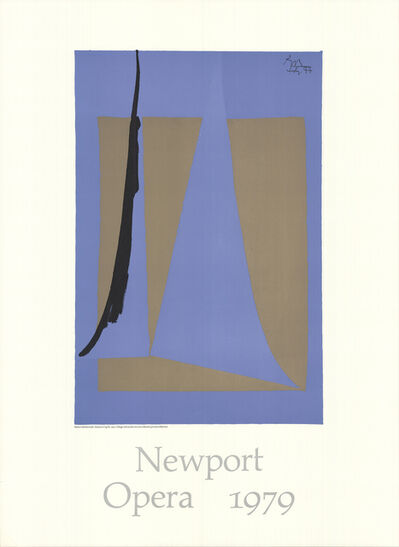 Robert Motherwell, 'America Cup II (With Border)', 1979