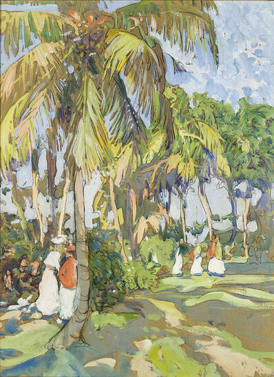 Jane Peterson, 'Palm Grove', 1916-1920