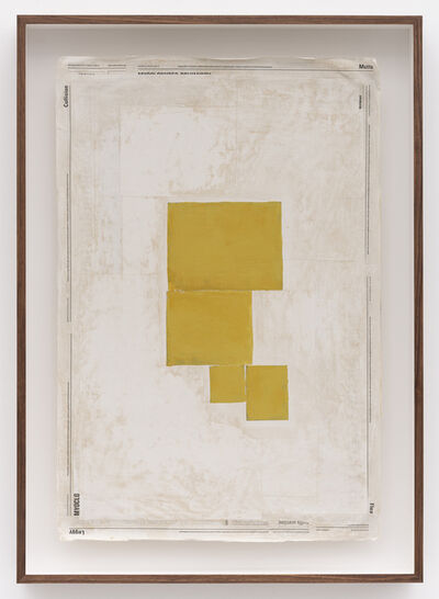 Mark Manders, 'Composition with Yellow', 2019