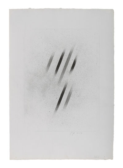 Charles Pollock (1902-1988), 'Charcoal 9', 1970
