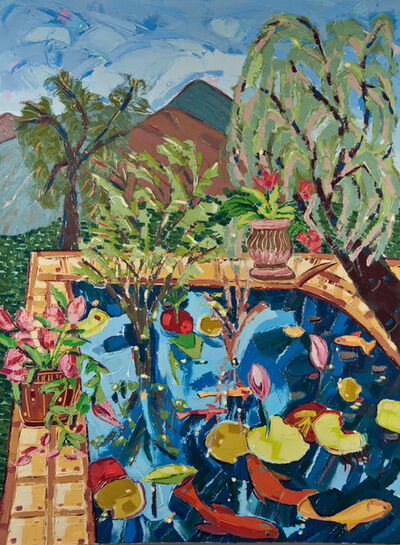 Nan Hass Feldman, 'Lily Pond in the Mountains', 2015