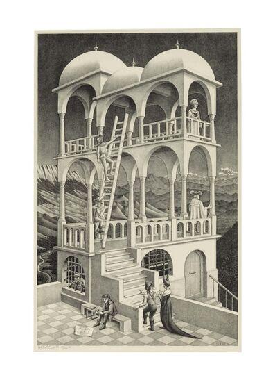 Maurits Cornelis Escher, 'Belvedere', 1958