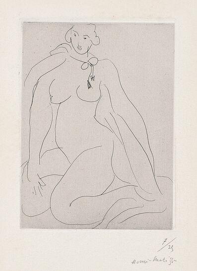 Henri Matisse, 'Nu accroupi, une cordelière nouée autour du cou (Seated Nude with Chord around the Neck)', 1931