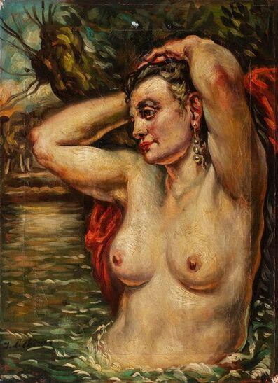 Giorgio de Chirico, 'Bather'