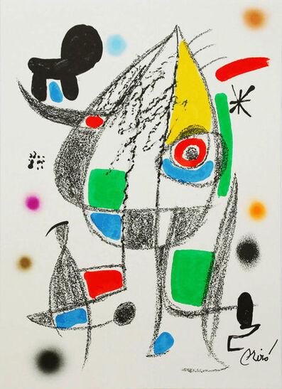 Joan Miró, 'Wonders with Acrostic Variations 20', 1975