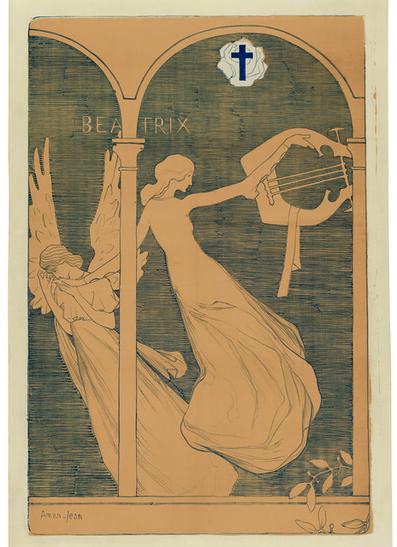 Edmond Aman-Jean, 'Beatrix', 1892-1893