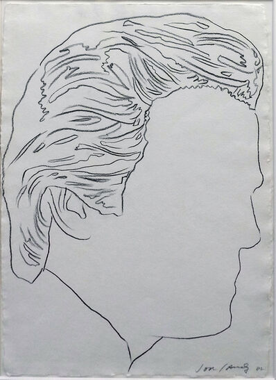 Andy Warhol, 'UNTITLED ( JON GOULD)', 1982