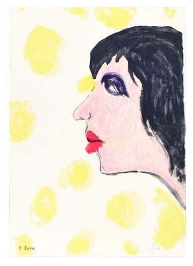 Pompeo Borra, 'Woman in Black', 1973